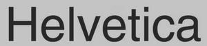Helvetica Presión, Continuidad, Velocidad