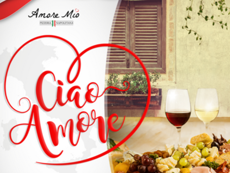 Take a trip down to the south of Italy at Amore Mio Pizzeria Napoletana! Music by Marisela | June 9