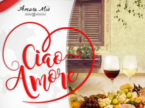 Take a trip down to the south of Italy at Amore Mio Pizzeria Napoletana! Music by Marisela   June 9