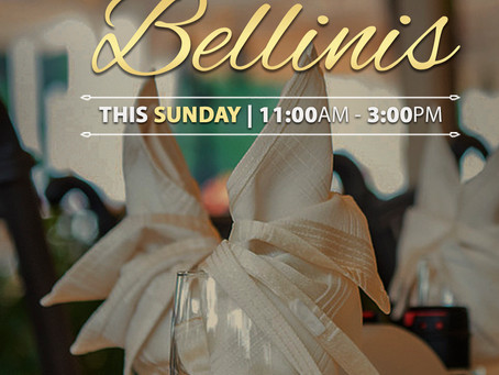 Missed last week? Don't miss out on Brunch & Bellinis this Sunday at Gianni's Ristorante! 📣 📣 📣