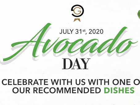 Celebrate your favorite fruit with us at Garden Fresh Cafe! The Avocadoooo 🥑 July 31st