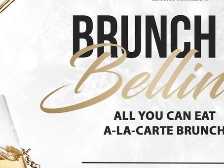 Brunch & Bellinis with Gianni's Group every Sunday in January! Kids under 5 eat pasta for FREE!