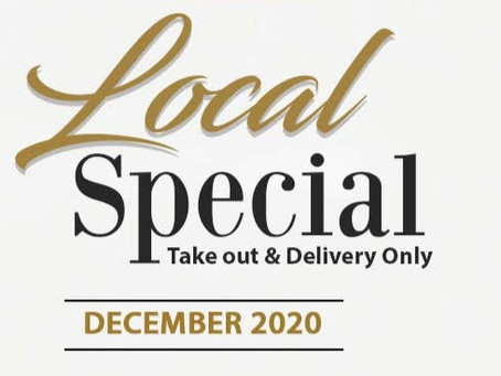 Local Specials for the month of 𝗗𝗘𝗖𝗘𝗠𝗕𝗘𝗥! Azia Restaurant & Lounge and Gianni's Ristorante!