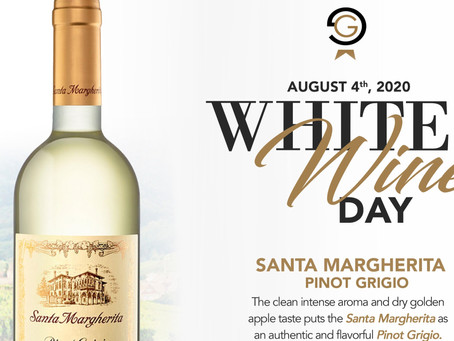 Celebrate WHITE Wine Day with Gianni's Group this Tuesday August 4th!