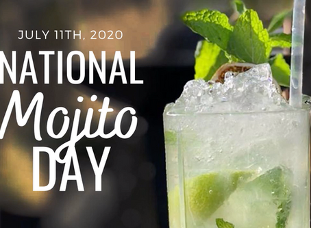 National Mojito Day on July 11th! Come and enjoy a crafty classic at one of our locations mentioned!