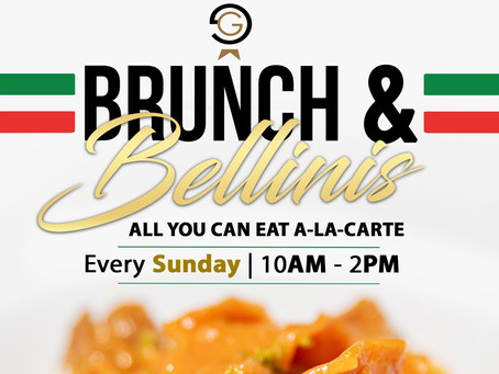Come and enjoy our NEW Brunch & Bellinis Menu at Gianni's Ristorante Italiano!