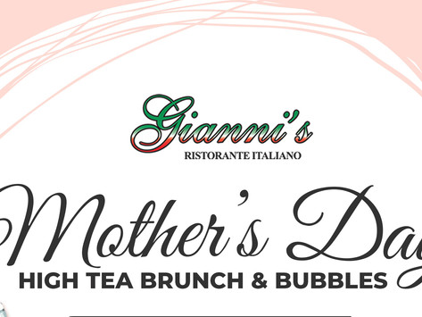 Mother's Day High Tea Brunch & Bubbles! All You Can Eat A La Carte Menu. Music By Dj Yeimy!