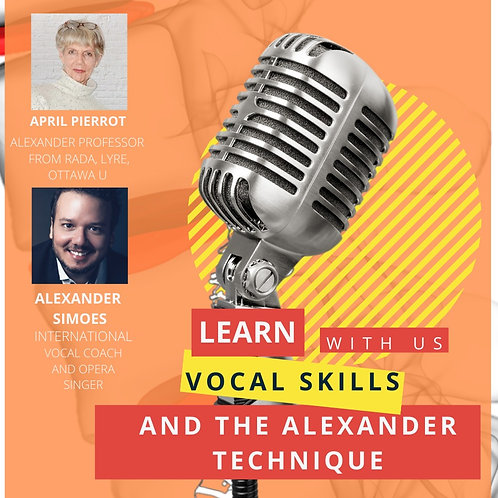Vocal Skills and the Alexander Technique Course