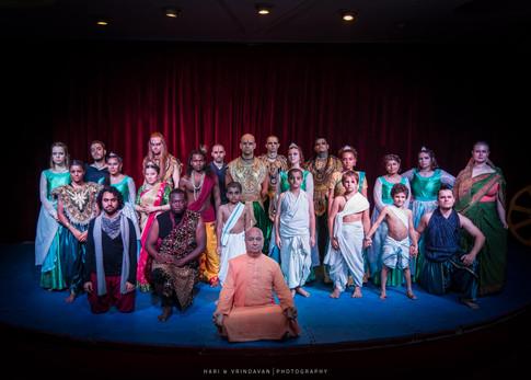 Arya Landers in Grandsire: The life of Bheeshma cast shot