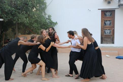 "Arya Landers in ""From Antigone to Medea"""