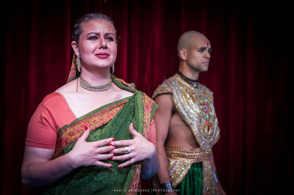 Arya Landers as Satyavati - Grandsire_ T
