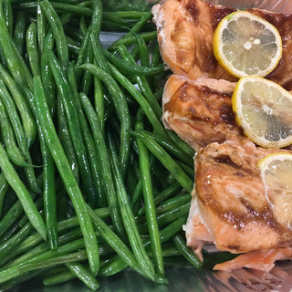 Roasted Chicken & Green Beans