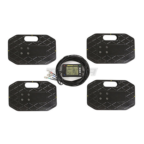 Proform 2250kg Race Car Corner Weighting Scales Kit Wired | PF-67650