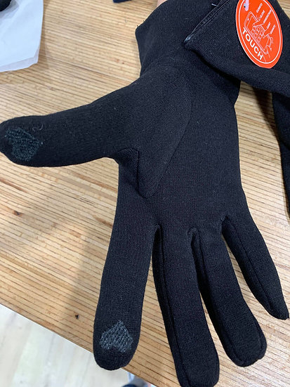 Gants avec doigts tactile
