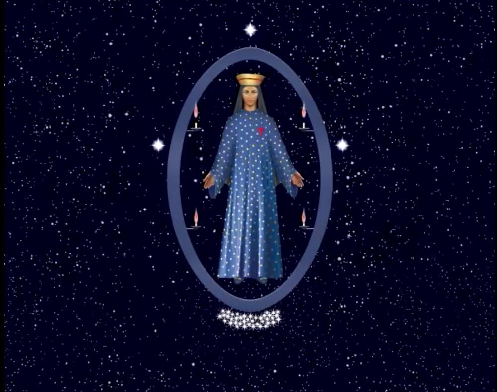 3 étoiles de la Trinité pour 3 Ave Maria