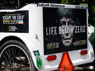 Pedicab Adventures & Nat Geo