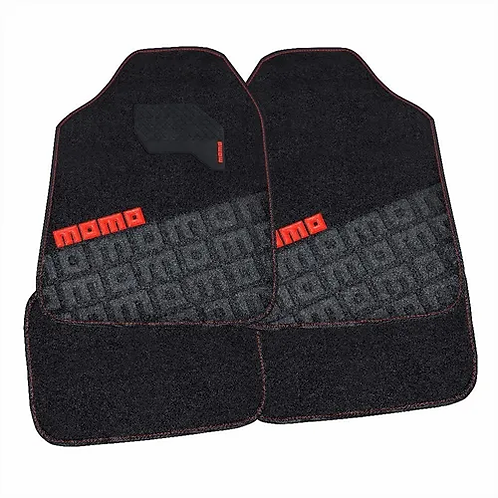 Tapete Para Auto Momo Mat Black And Red