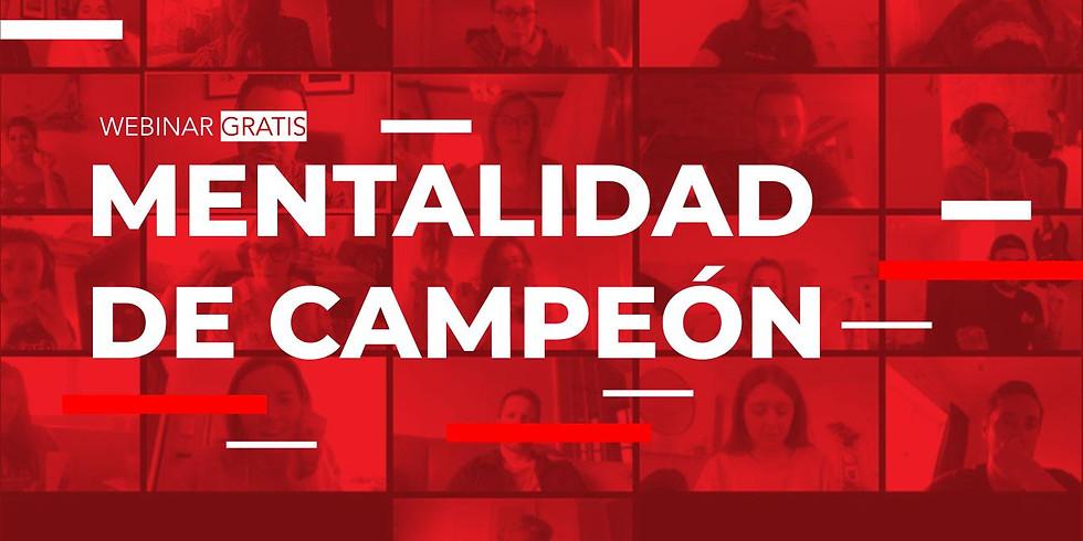 Mentalidad de campeón  Domingo 13 de Diciembre 10:00am (1)