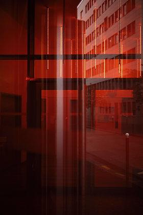 """Red sticks"" (Paris / France) - 2020"