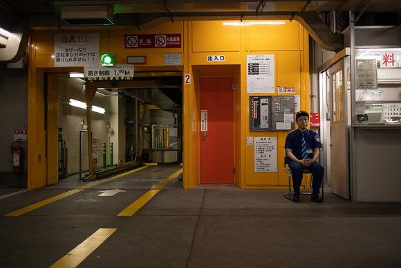 The parking guy (Tokyo / Japon)