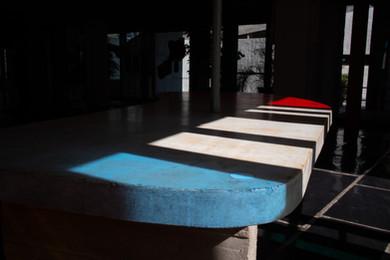 Série photographies photo architecture couleurs Alexandre Alloul