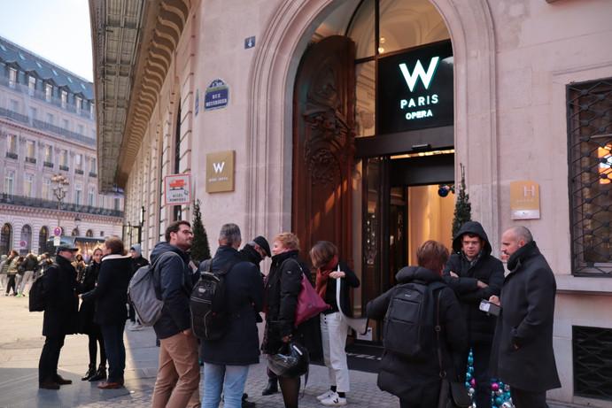 Vernissage @W Paris Opéra
