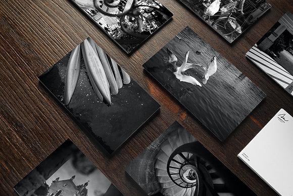"Collection de 10 cartes photographiques ""Contrastes"""