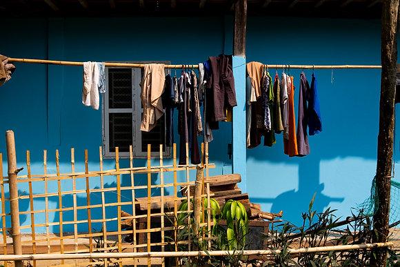 Corde à linge cubaine (Mai-Chau / Vietnam)