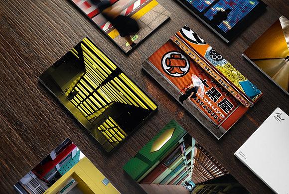 "Collection de 10 cartes photographiques ""Street Therapy"""