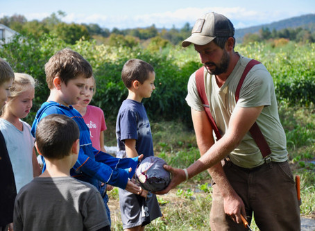 Bakersfield and Fairfield Students Lend a Hand at West Farm