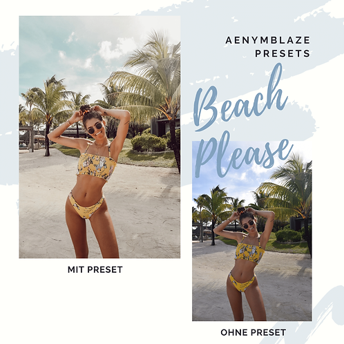 BEACH PLEASE - PRESET