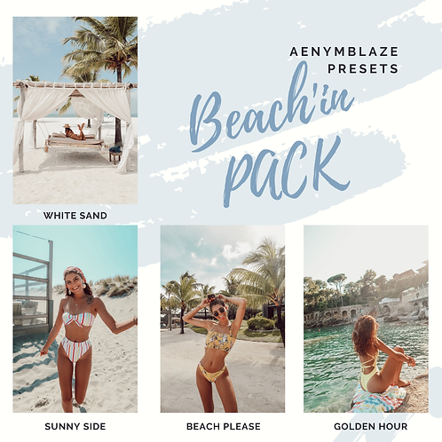 Beach'in - PRESET PACK