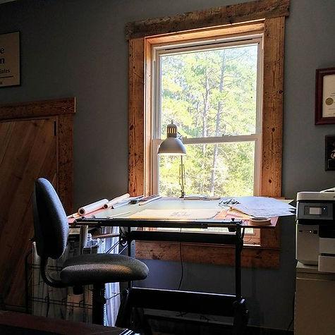 residential design, drafting board, office