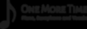 One More Time_ Original Logo on Transpar