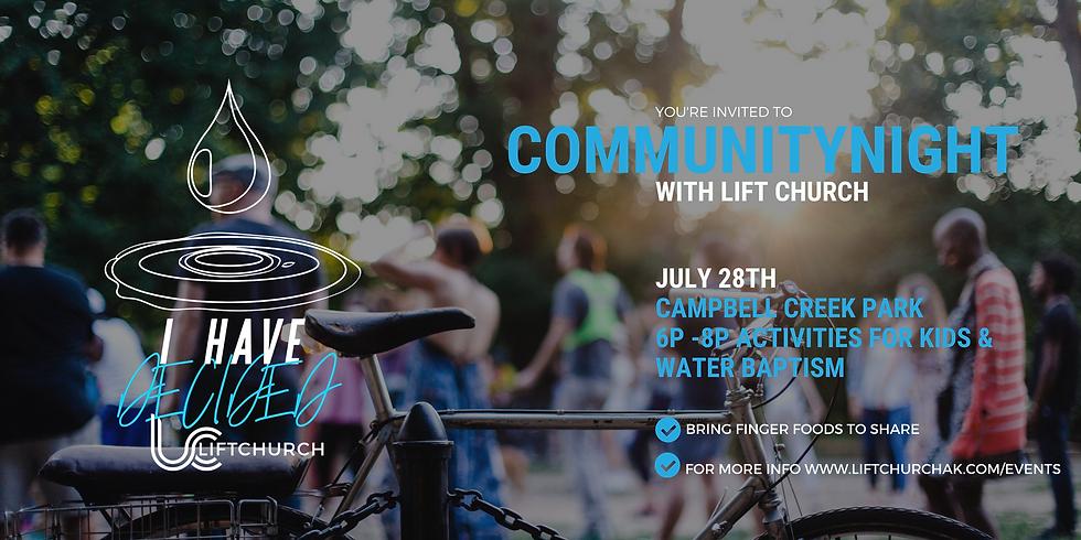 Community Night with Lift Church