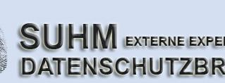 SUHM EXTERNE EXPERTEN® Datenschutzbrief