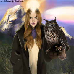 The Lady Of The Owl