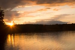 Sunset at Otter Lake