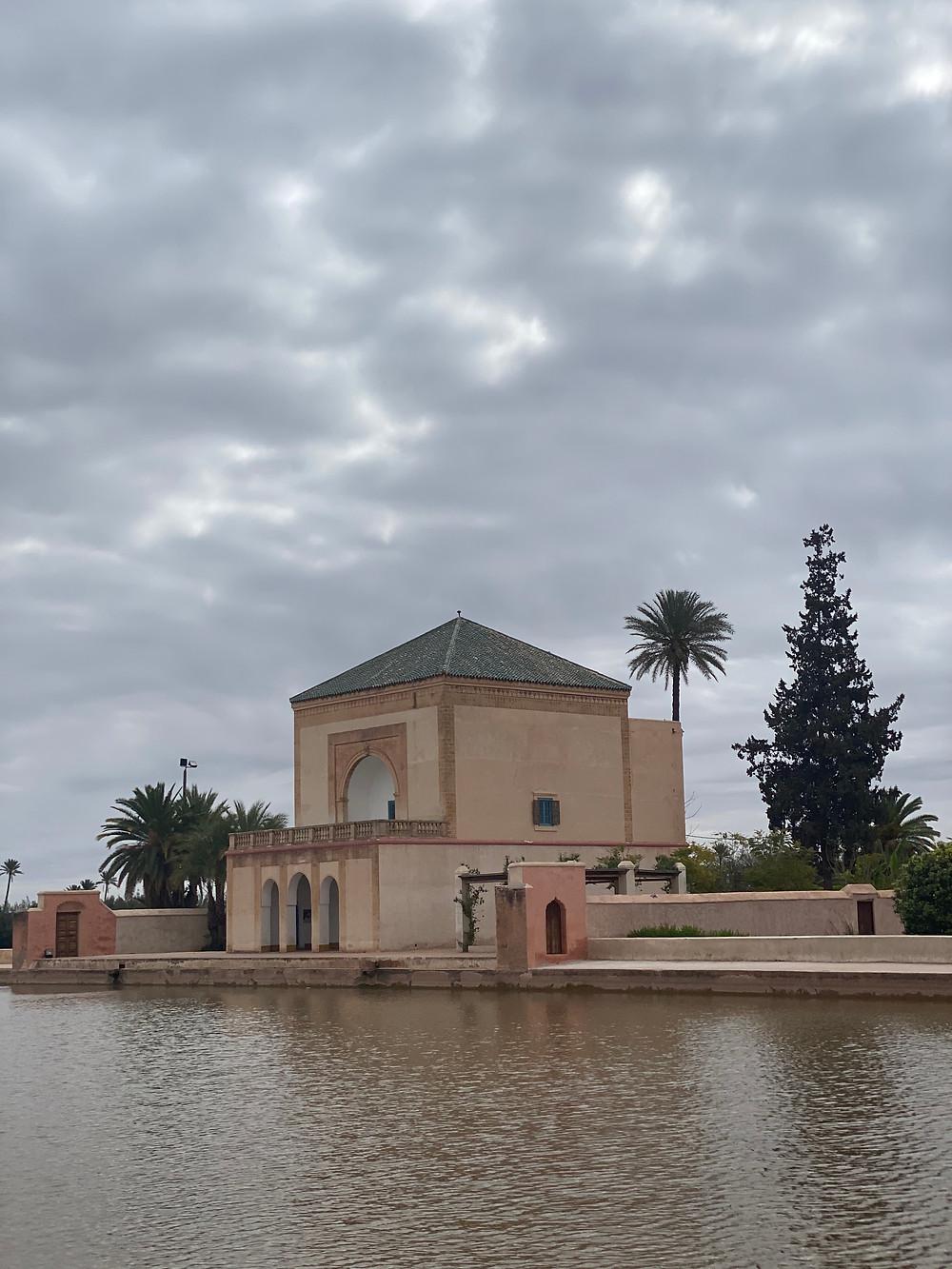 Menara Gardens in Marrakech Morocco