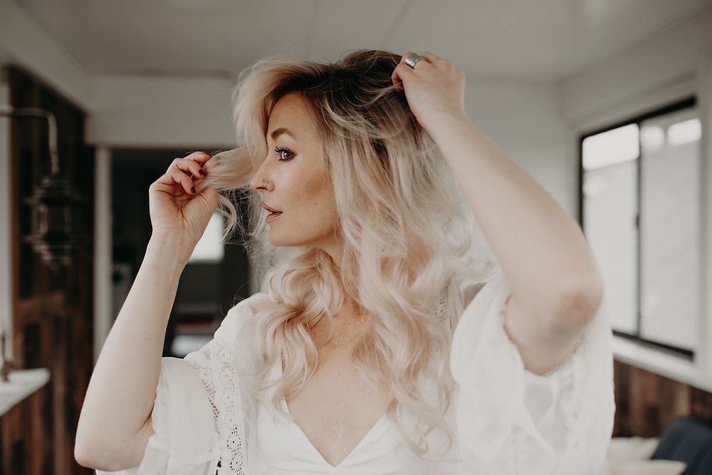 heatless curls by Tessa Matsis Smith