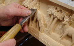 hands-carving