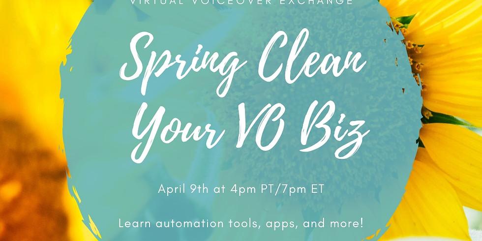 Spring Clean Your VO Biz!