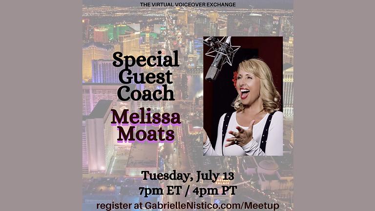 Special Guest Coach Melissa Moats!