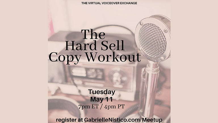 The Hard Sell Copy Workout!