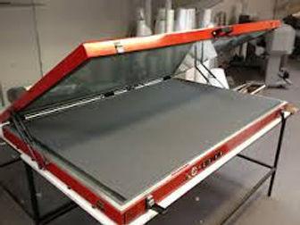 Hotpress vacuum heat sealer for mount images down