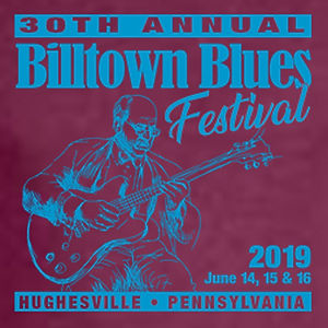 30th Anniversary Billtown Blues Festival T-shirt Graphic