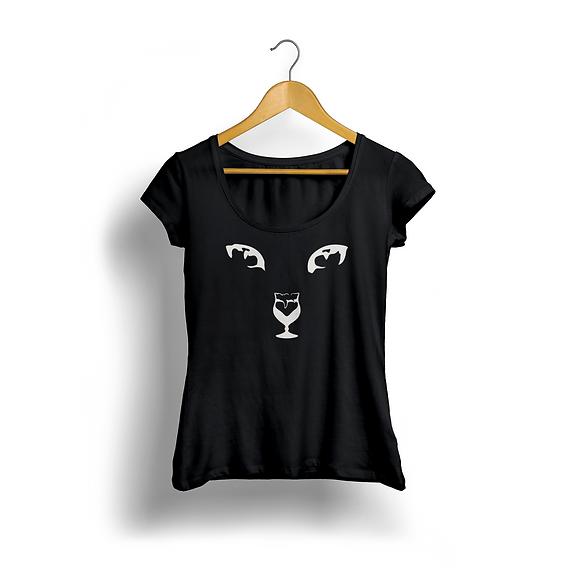 Catfe_T-Shirt_Black_Beer_Front.png