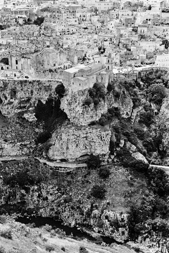 Matera, in all its mineral glory