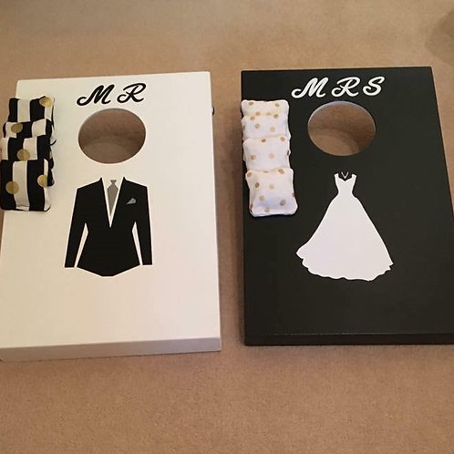 Mr and Mrs mini game