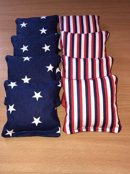 Cornhole bags - Stars& Stripes